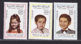 MAROC N°  569 à 571 ** MNH Neufs Sans Charnière, TB (D6267) Semaine De L'enfance - 1968 - Morocco (1956-...)