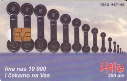 TARJETA TELEFONICA DE SERBIA, (268) - Yugoslavia