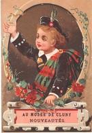 Chromo - Calendrier 1882 (janvier à Juin) - AU MUSEE DE CLUNY - Calendars