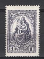 Ungheria 1926 Unif.427 **/MNH VF/F - Ungheria
