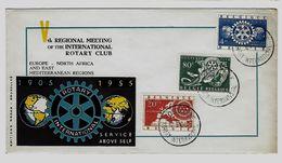 Belgie - Belgique 952/54 FDC - Edition Rodan - Rotary International - FDC