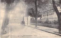94 - BRY SUR MARNE : Avenue A. Briand ( Face Au Restaurant Du CHALET De La PEPINIERE ) CPA - Val De Marne - Bry Sur Marne