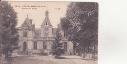 CPA - 1343. L'ISLE ADAM - Hôtel De Ville - L'Isle Adam