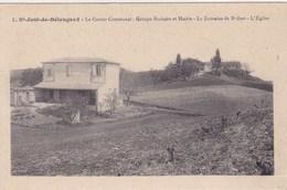 St Just De Belengard Centre Communal Mairie Eglise - Autres Communes