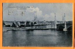 P185, Exposition Universelle De Liège 1905, D. T. C. Anvers, Lge. 49, Circulée - Liège