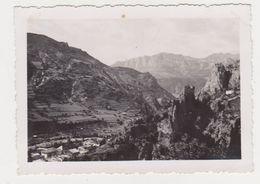 26510 Deux 2 Photo France Descente Valberg Sur Guillaumes - Vers 1950 - - Lieux