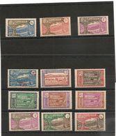 CAMEROUN Années: 1926/38  N°Y/T : 133/148* Côte: 35,00 € - Nuevos