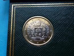 RARE ***  1  EURO  VATICAN  2018  ( 2 Photos ) - Vaticano (Ciudad Del)
