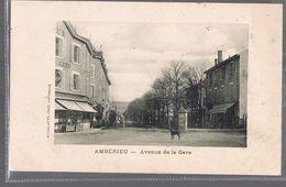 AMBERIEU . Avenue De La Gare . - Andere Gemeenten