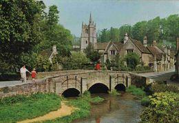 CPM   Angleterre Castle Combe - Angleterre