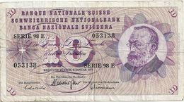 Suisse 10 Francs 1977 - Suisse
