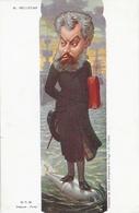 Caricature M. Charles Camille Pelletan, Ministre De La Marine - Peinture De Moloch, Carte Dos Simple Non Circulée - Satiriques