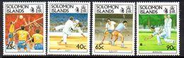 Solomon Islands 1991 9th S. Pacific Games Set Of 4, MNH, SG 698/701 (B) - Solomon Islands (1978-...)
