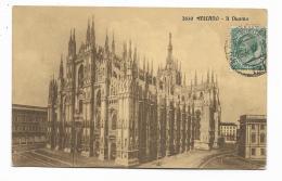 MILANO - IL DUOMO  VIAGGIATA FP - Milano