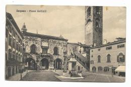 BERGAMO - PIAZZA GARIBALDI  - VIAGGIATA  FP - Bergamo