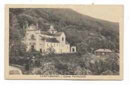 CAMPAGNANO ( MACCAGNO ) CHIESA PARROCHIALE 1923  - VIAGGIATA  FP - Varese