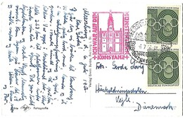 Postkarte 1956. Basilika U. L. Frau Zu Konstanz (Bodensee). 0223180309 - Konstanz