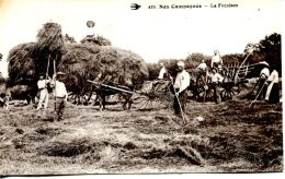 N°255 A -cpa Nos Campagnes -la Fenaison- - Cultures