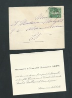 Poitiers  Decembre 1920 -F.P. DE  Fiançaille De Yvonne Leps Avec Le Vicomte Antoine Du Breil De Pontbriand- Lh14006 - Engagement