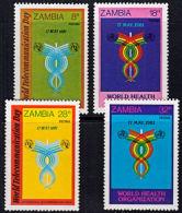 Zm0333 ZAMBIA 1981,  SG 333-6 World Telecommunications And Health Day,  MNH - Zambia (1965-...)