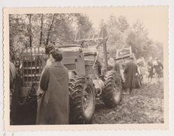26512 Huit 8 Photo Belgique Belgie -Francorchamps Spa Malchamps -deboisement Tracteur Supershell Boom Foret 1962 Arbre - Lieux
