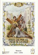 Gandia. Estaciones Del Calvario De Jesús. Jesús Cae Por El Peso De La Cruz. - Santos