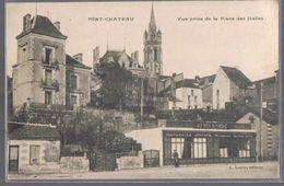 PONT-CHÂTEAU . Vue Prise De La Place Des Halles . - Pontchâteau