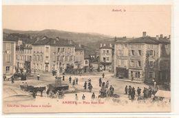 Ambert - Place Saint Jean -   CPA ° - Ambert