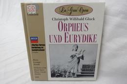 """CD """"Orpheus Und Eurydike / Christoph Willibald Gluck"""" Mit Buch Aus Der CD Book Collection (gepflegter Zustand) - Opera"""