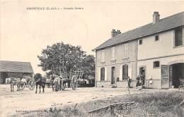 28 - EURE ET LOIR / 282721 - Gironville - Grande Ferme - Beau Cliché - Autres Communes