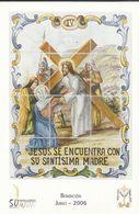 Gandia. Semana Santa. Estaciones Del Calvario De Jesús. Jesús Se Encuentra Con Su Santísima Madre. - Santos