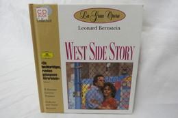 """CD """"West Side Story / Leonard Bernstein"""" Mit Buch Aus Der CD Book Collection (gepflegter Zustand) - Opera"""
