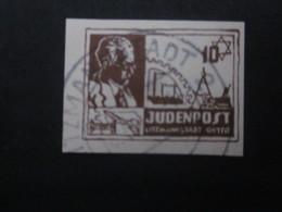 Litzmannstadt 10 Pf.  Ghetto Gestempelt - REPRODUKTION ! - Occupation 1938-45