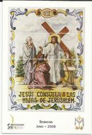 Gandia. Semana Santa. Estaciones Del Calvario De Jesús. Jesús Consuela A Las Hijas De Jerusalem. - Santos