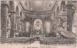 Ille  Et  Vilaine  :SAINT  SERVAN : Int.  De L  église - Francia