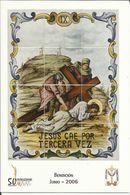 Gandia. Semana Santa. Estaciones Del Calvario De Jesús. Jesús Cae Por Tercera Vez. - Santos