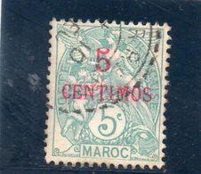 MAROC 1902-3 O - Morocco (1891-1956)