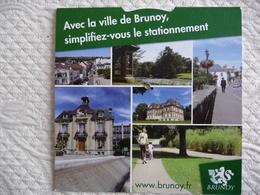 Disque De Stationnement De La Ville De BRUNOY - Altri