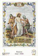 Gandia. Semana Santa. Estaciones Del Calvario De Jesús. Jesús Es Despojado De Sus Vestiduras. - Santos