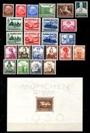 Allemagne/Reich Belle Collection Neufs **/* 1933/1942. Bonnes Valeurs. B/TB. A Saisir! - Allemagne