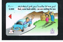 OMAN - MPTT -  SPEEDING IS DANGEROUS - USED  -  RIF.  10344 - Oman