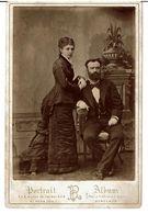 BORDEAUX 33-  PHOTOGRAPHIE Du PHOTOGRAPHE PANAJOU  H. à  BORDEAUX - Couple,Notable - Foto's