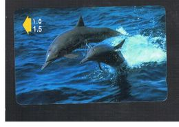 OMAN - MPTT -  ANIMALS: DOLPHINS          - USED  -  RIF.  10346 - Dolphins