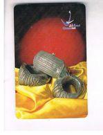 OMAN - MPTT - CHIP - 2002 ANKLETS      - USED  -  RIF.  10346 - Oman