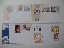 Entiers Postaux  Europa  Malta   1990 / 1992 / 1993 / 1995    à Voir - Malte