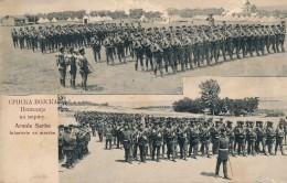 H94 - SERBIE - SArmée Serbe - Infanterie En Marche - Serbie