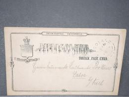 ALLEMAGNE - Héligoland , Entier Postal Voyagé En 18.. - L 15907 - Héligoland