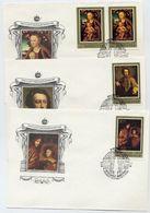 SOVIET UNION 1983 German Paintings Set On 5 FDCs.  Michel 5329-33 - 1923-1991 USSR