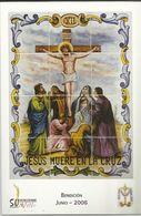 Gandia. Semana Santa. Estaciones Del Calvario De Jesús. Jesús Muere En La Cruz. - Santos