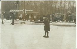 Fotokaart Schaatsen 1919 - Holanda